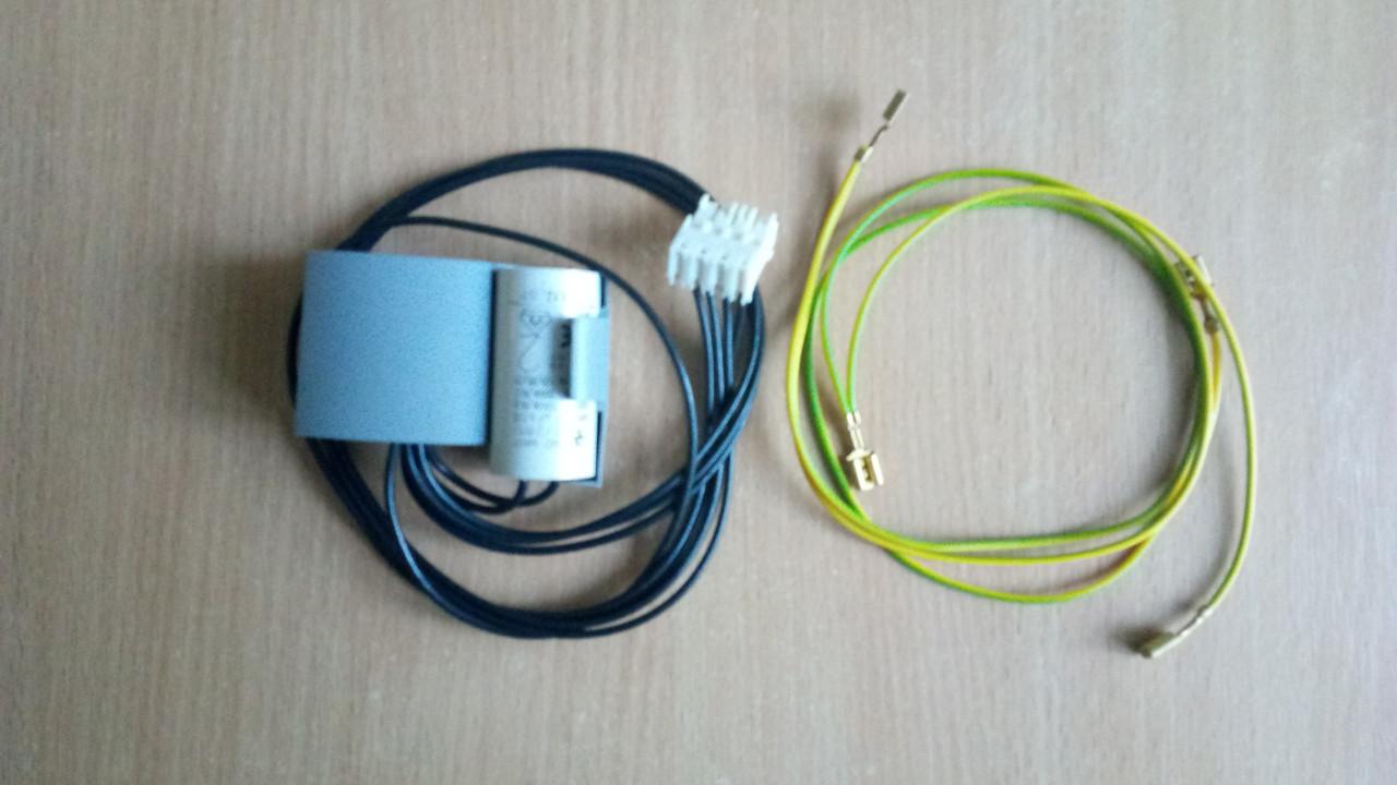 Проводка циркуляционного насоса вместе с конденсатором  Ariston CLAS - GENUS.