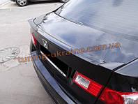 Спойлер-сабля из стеклопластика на Honda Accord 8 2007-2013