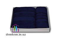 Набор полотенец т. синий