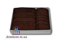 Набор полотенец шоколад