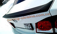 Спойлер-сабля Mugen Style из стеклопластика на Honda Civic 8 2005-2011 седан