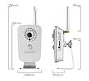 IP Камера  Wi-Fi видеокамера QIHAN QH-NM311-WP, фото 2