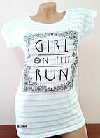 Очень красивая футболка из коттона