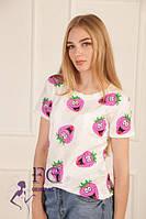 Женская летняя футболка, очень удобная