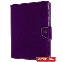 Чехол-книжка универсальная для планшета 10 дюймов фиолетовый