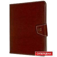 Чехол-книжка универсальная для планшета 10 дюймов коричневый