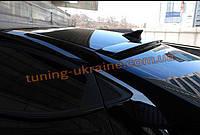 Спойлер-бленда на стекло из АБС пластика на Hyundai Sonata NF 2004-2009