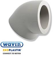 Отвод (колено) ПП 25х45º Wavin Ekoplastik (Чехия) (50/300)