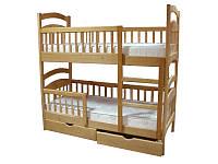 Кровать двухъярусная Карина Люкс усиленная