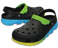 Кроксы мужские Crocs Duet Max Ombre Clog М10 43 Оригинал США