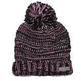 Зимняя детская шапка для девочки Nano F17 TU 262Black. Размеры 4/6- 7/12., фото 2
