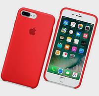 Силиконовый чехол Apple Silicone Case IPHONE 7Plus/8 Plus (Red)
