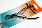 Кусачки нігтьові Майстер 800 для обрізання кутикули і нігтів на ногах і руках, ручне заточування, тип упаковки: пл, фото 3