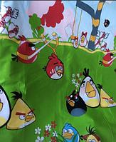 Комплект детского постельного белья бязь голд Angry birds, 100% хлопок