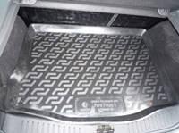 Коврик багажника (корыто)-полиуретановый, черный Ford Focus II sedan (Форд фокус 2 2004-2010)