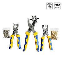 Набор для рукоделия S&R 274400300 (дырокол, щипцы для люверсов и щипцы для кнопок)