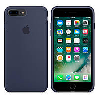 Силиконовый чехол Apple Silicone Case IPHONE 7Plus/8Plus (Dark Blue), фото 1