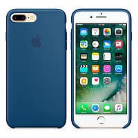 Силиконовый чехол Apple Silicone Case IPHONE 7Plus/8Plus (Ocean Blue), фото 1