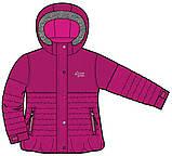 Зимний костюм для девочки PELUCHE F17M50EF Framboise / Smokey Grey. Размеры 96 - 134., фото 3