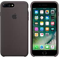 Чехол для iPhone 7 Plus /8 Plus Silicone Case бампер (Coffee), фото 1