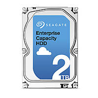 """Жесткий диск HDD 3.5"""" Seagate Enterprise Capacity HDD 2TB, 7200 об/мин, S-ATA III, 600 MB/с, кэш-память 128 MB"""