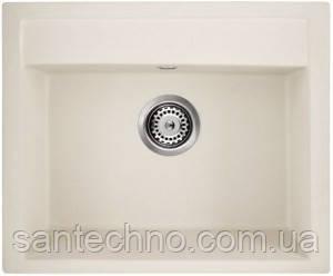 Мийка кухонна гранітна Argo Cubo Ivory 590*500*200
