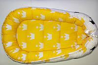 Кокон-гнездышко для новорожденных  0-9 мес с дополнительным матрасиком