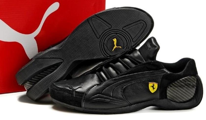 46bd4515cbe5e7 Мужские кроссовки Puma Ferrari Black - Интернет-магазин обуви Bootlords в  Киеве