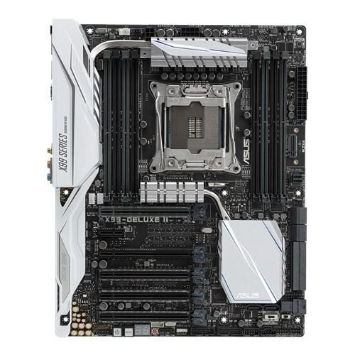 "Материнская плата ASUS X99-DELUXE II X99 s.2011-3 DDR4 Intel X99 ""Over-Stock"" Б/У"