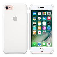 Силиконовый чехол Apple Silicone Case IPHONE 7/8 (White), фото 1