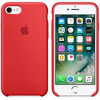 Силиконовый чехол Apple Silicone Case IPHONE 7/8 ( Red)