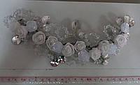 Свадебный гнущийся гребень ручной работы (Б-М-01)