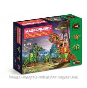 Магнитные конструкторы ТМ Magformers Оживший динозавр 81 элементов, фото 2
