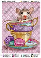 """Схема для вышивки бисером - """"Мышь"""""""