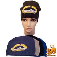 Детская трикотажная шапка, для мальчика р-р 52