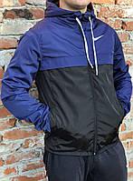 Спортивная куртка-ветровка на флисе 1009/25