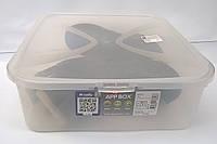 Коробка для хранения женской демисезонной обуви Arco 12 литров Rotho