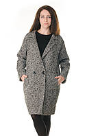Пальто женское демисезонное полушерстяное Milas