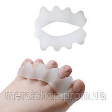 Корректоры(сепараторы) косточек на ногах (вальгус-корректор), между всех пальцев (пара)