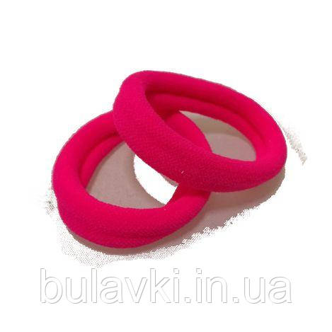 Резинка для волос нейлон 2,5см розовая