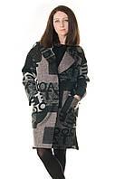 Пальто женское Victoria Bloom геометрия