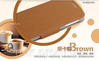 Чехол-книжка MOFI для телефона Lenovo S920 коричневый