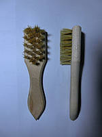 Щетка для обуви натуральная щетина намазок 40*150 мм