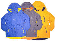 Осенние куртки-парки для мальчиков на синтепоне и флисовой подкладке. В остатке 134,140р.- синий.
