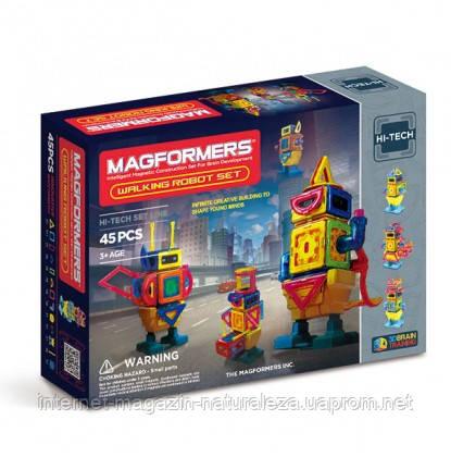Конструктор магнитный Magformers Шагающий робот 45 элементов