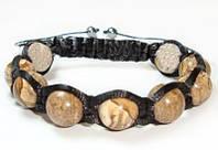 Мужской браслет шамбала из Яшмы