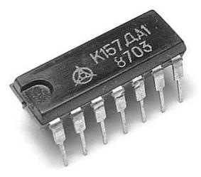 К157ДА1 - Двухканальный двухполупериодный амплитудный детектор