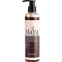 Укрепляющий лечебный шампунь с лошадиным жиром Secret Key Mayu Healing Shampoo