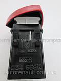 Переключатель аварийного сигнала на Рено Трафик - Renault (Оригинал) 252904889R, фото 6