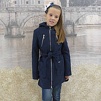 """Кашемировое пальто """"Александра"""" синий, фото 1"""